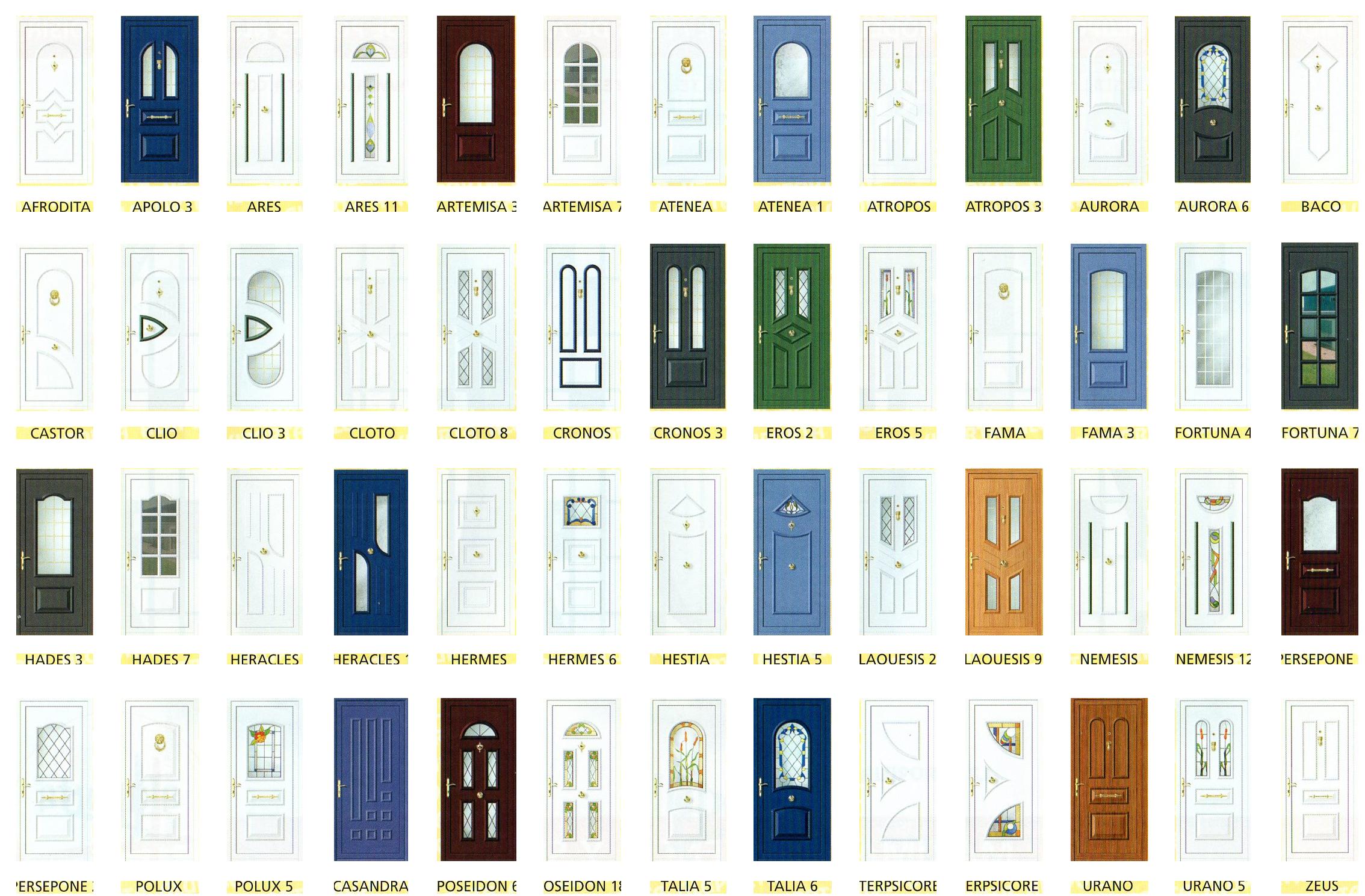 Puertas de aluminio y cerramientos catalogo puertas de for Puertas aluminio exterior precios